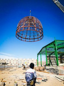 ساخت گنبد مدل مسجدالنبی